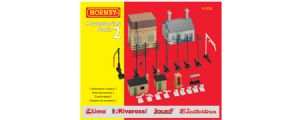 Hornby R8228 Building Accessories Pack 2